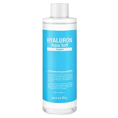 Тонер гиалуроновый, 500 мл — Hyaluron aqua soft toner
