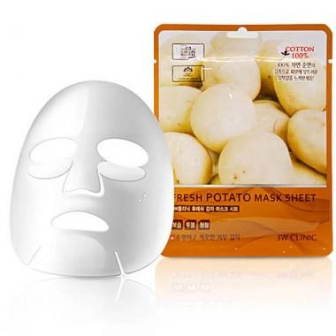 Маска тканевая для лица с экстрактом картофеля, 23мл