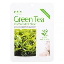 Маска с экстрактом зелёного чая, 21 г