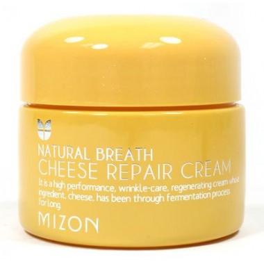 Mizon Крем для лица питательный сырный - Cheese repair cream, 50мл