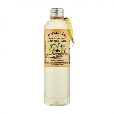 Безсульфатный шампунь для волос с маслом франжипани, 100 мл — Natural Shampoo Frangipani