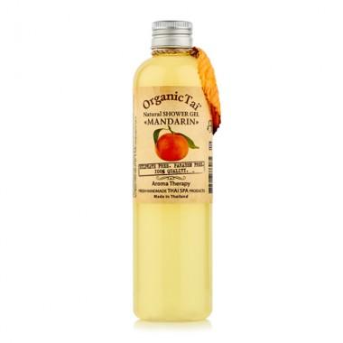 Безсульфатный гель для душа с мандариновым маслом, 260 мл — Natural Shower Gel Mandarin