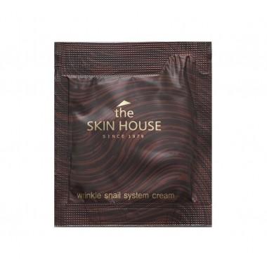 Антивозрастной крем на основе улиточного муцина, 2 мл, Пробник — Wrinkle Snail System Cream