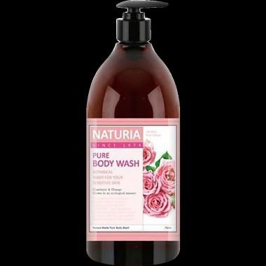 Гель для душа роза/розмарин, 750 мл — Pure body wash rose & rosemary