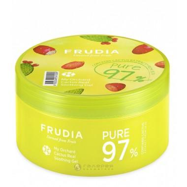 Гель универсальный для лица и тела с кактусом, 500 мл — My orchard real soothing gel