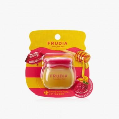 Бальзам для губ с гранатом 3в1, 10 г — Pomegranate Honey 3 in 1 Lip Balm