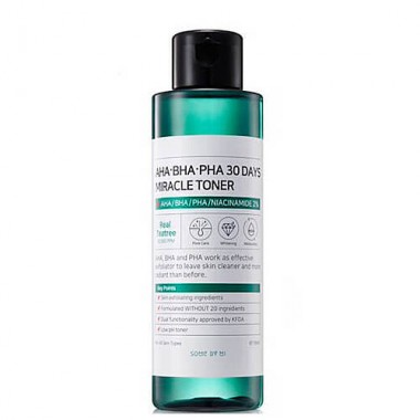Тонер с AHA/BHA/PHA кислотами для проблемной кожи, 150мл, SOME BY MI