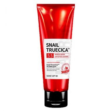 Гель для умывания с муцином улитки, 100 мл — Snail truecica miracle repair gel cleanser