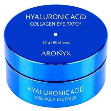 Aronyx Патчи гидрогелевые с коллагеном и гиалуроновой кислотой - Hyaluronic acid collagen, 60шт