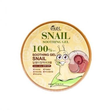 Гель успокаивающий с муцином улитки, 300 мл — Snail soothing gel 97%