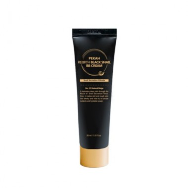 BB-крем с муцином чёрной улитки, тон №23, 30 мл — №23 - Rebirth black snail bb cream