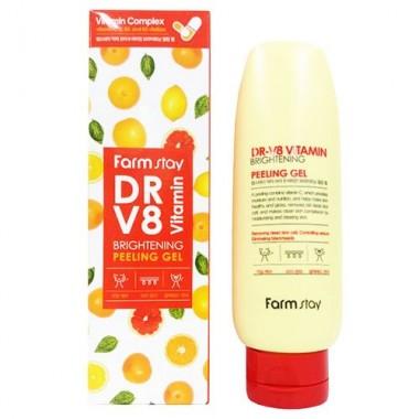 Гель отшелушивающий с комплексом витаминов, 150 мл — Dr-V8 Vitamin Brightening Peeling Gel