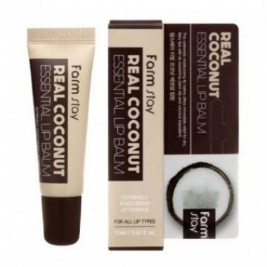 Бальзам для губ с экстрактом кокоса, 10 мл — Coconut Essential Lip Balm