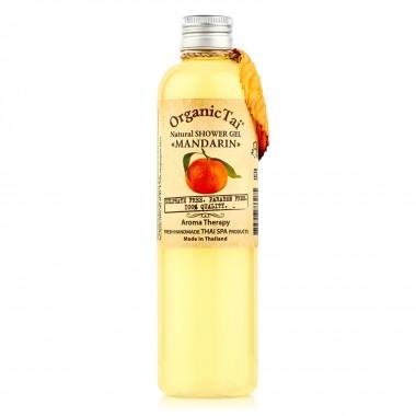 Безсульфатный шампунь для волос с мандариновым маслом, 100 мл — Natural Fortifying Shampoo Mandarin