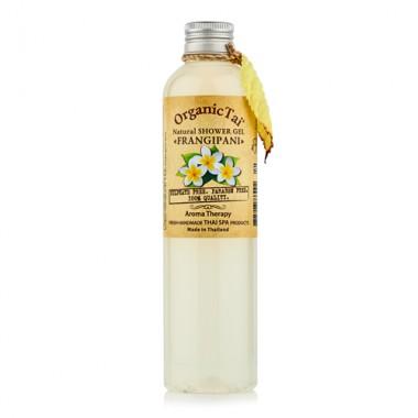 Безсульфатный гель для душа с экстрактом франжипани, 260 мл — Natural Shower Gel Frangipani