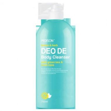 Гель для душа лимон/мята, 750 мл — Deo de body cleanser