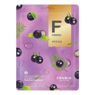 Frudia Маска для лица с ягодами асаи - Frudia my orchard squeeze mask acai berry, 20мл
