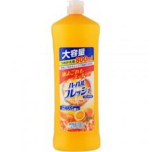 Средство для мытья посуды, овощей и фруктов с ароматом апельсина, 800 мл