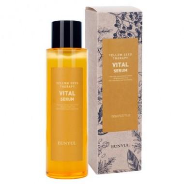 Витаминизирующий серум для лица с ниацинамидом и экстрактами цитрусовых, 150 мл — Yellow Seed Therapy Vital Serum