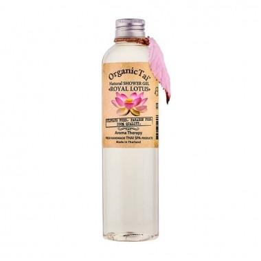 Безсульфатный гель для душа с экстрактом королевского лотоса, 260 мл — Natural Shower Gel Royal Lotus