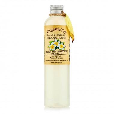 Безсульфатный гель для душа с экстрактом франжипани, 100 мл — Natural Shower Gel Frangipani
