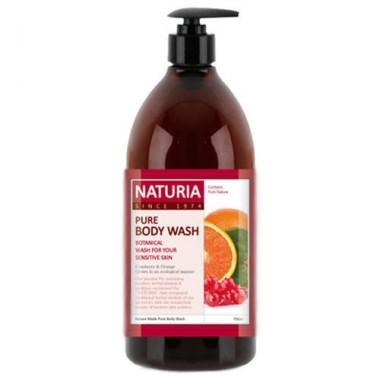Гель для душа клюква/апельсин, 750 мл — Pure body wash cranberry & orange