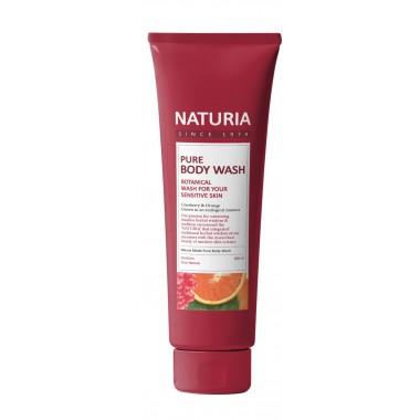 Гель для душа клюква/апельсин, 100 мл — Pure body wash cranberry/orange
