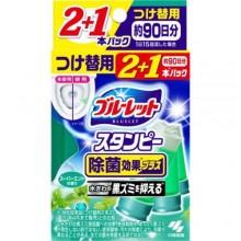 Очиститель для туалетов с ароматом мяты запасной блок, 28 г*3ш