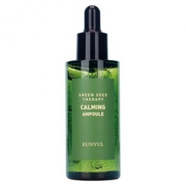 Ампульная успокаивающая сыворотка для лица с экстрактами зеленых плодов, 50 мл — Green Seed Therapy Calming Ampoule