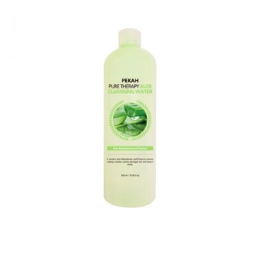 Вода мицеллярная с экстрактом алоэ, 500 мл — Pure therapy aloe cleansing water