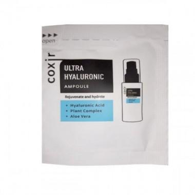 Ампульная сыворотка увлажняющая с гиалуроновой кислотой, 2 мл, пробник — Ultra Hyaluronic Ampoule pouch