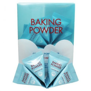Скраб для лица с содой в пирамидках, 24 шт — Baking powder crunch pore scrub