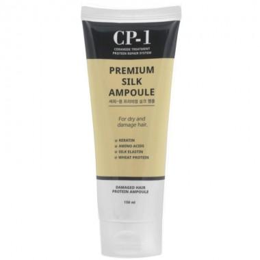 Несмываемая сыворотка для волос с протеинами шелка, 150 мл — CP-1 Premium Silk Ampoule