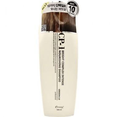 Протеиновый интенсивно питающий шампунь, 500 мл — CP-1 Bright Complex Intense Nourishing Shampoo