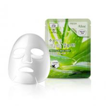 Тканевая маска для лица с алоэ