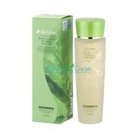 Тонер для лица с алоэ Aloe Full Water Activating Skin Toner 3W Clinic, 150 мл
