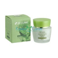 Крем для лица с алоэ Aloe Full Water Activating Cream 3W Clinic, 50 гр
