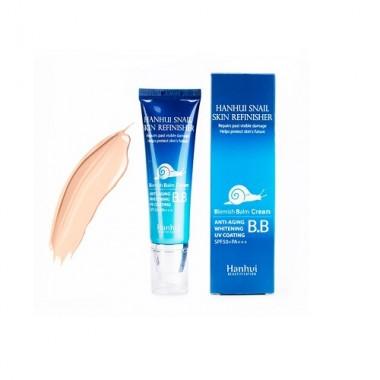 ББ крем с муцином улитки, SPF 50/PA+++, 50 мл — Snail Mucus Skin Refinisher B.B Cream SPF 50/PA+++