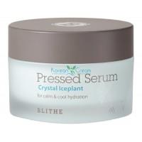 Сыворотка для лица увлажняющая «Хрустальный лед» Pressed Serum Crystal Ice Plant BLITHE, 50 мл