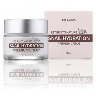 Крем для лица с муцином улитки, 50 мл — Return To Nature Snail Hydration Cream