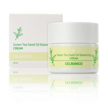 Балансирующий крем с семенами зеленого чая, 50 мл — Green Tea Seed Oil Balancing Cream