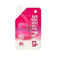 Крем для выравнивания тона лица с экстрактом жемчуга Pink Blooming Cream DerMeiren, 10 г