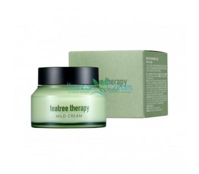 Крем с экстрактом  чайного дерева Tea Tree Therapy Mild Cream EUNYUL, 70 гр