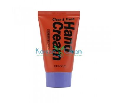 Крем для рук с вишневым цветом Clean & Fresh Cherry Blossom Hand Cream EUNYUL, 50 г