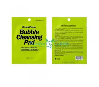 Тканевые подушечки Clean & Fresh Bubble Cleansing Pad EUNYUL, 1 шт