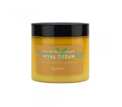 Витаминизирующий крем-гель для лица с экстрактами цитрусовых Yellow Seed Therapy Vital Cream EUNYUL, 270 гр