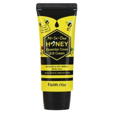 ВВ крем с экстрактом меда SPF 30/PA++, 50 г — All-In-One Honey Essential Cover