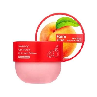 Многофункциональный крем с экстрактом персика, 300мл, FarmStay