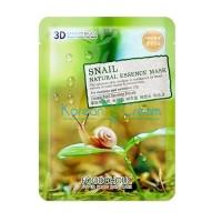 Тканевая маска с экстрактом секрета улитки Snail Natural Essence Mask FoodaHolic