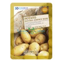 Тканевая маска для лица с экстрактом картофеля Potato Natural Essence Mask FoodaHolic